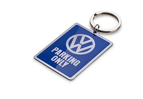 "VW Schlüsselanhänger ""Parking Only"", Dunkelblau"