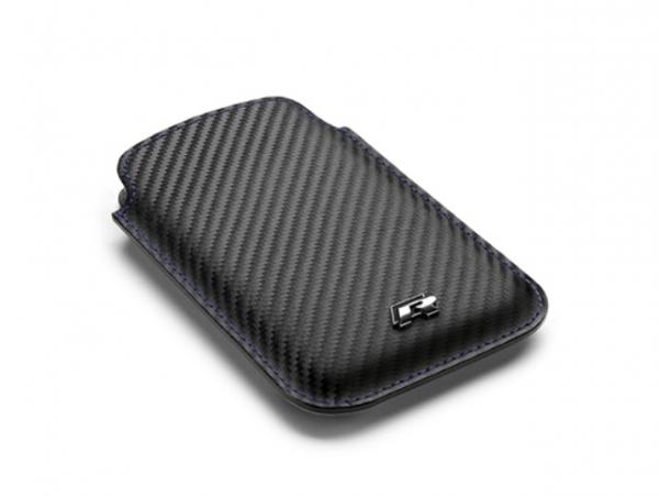 """VW """"R"""" Smartphone-Hülle in Carbonoptik"""