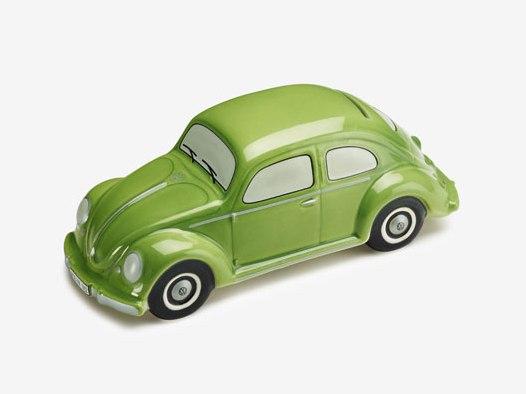 Volkswagen Klassik Spardose Käfer, Erbswurstgrün