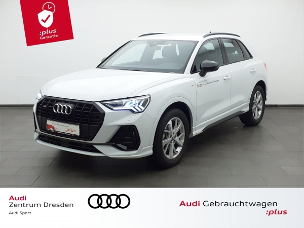 Audi Q3 S line 45TFSI qauttro Matrix LED AHZV  (Gebrauchtwagen)