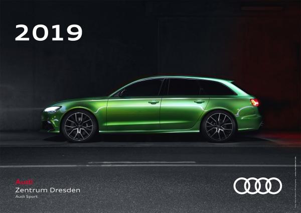 Audi Zentrum Dresden Wand-Kalender 2019