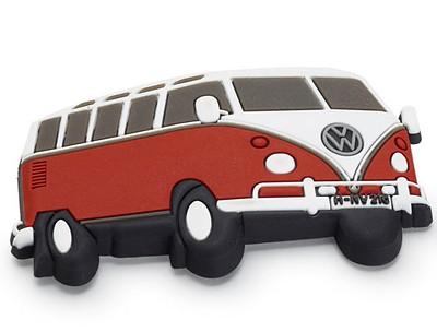 VW Magnet Bulli, Rot