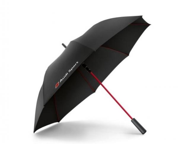 Audi Sport Regenschirm, schwarz