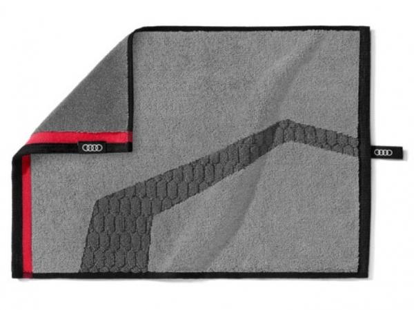 Audi Badehandtuch, 30 x 45cm, grau