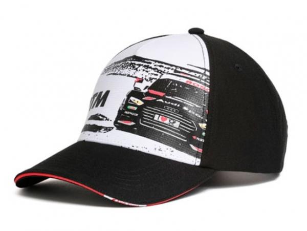 Audi Sport, Unisex DTM Cap, schwarz/weiss
