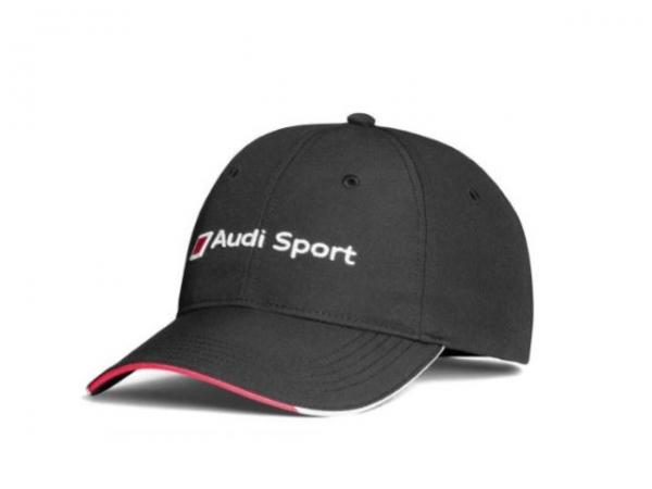 Audi Sport Cap, schwarz