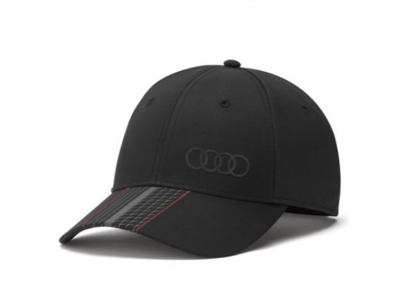 Audi Cap Premium, schwarz
