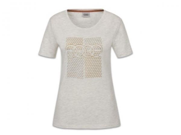 Audi T-Shirt, Damen, grau