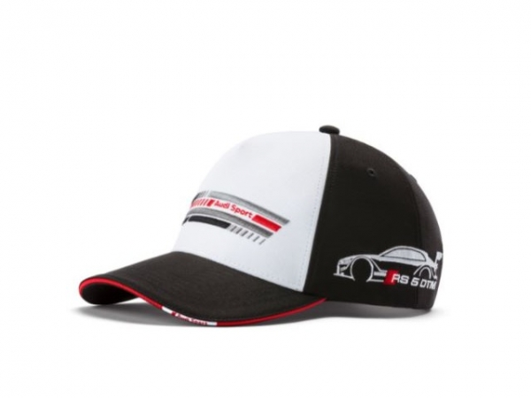Audi Sport Cap DTM, schwarz/weiß