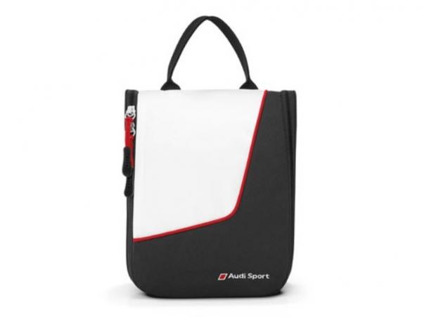 Audi Sport, Wash Center, schwarz/weiß/rot