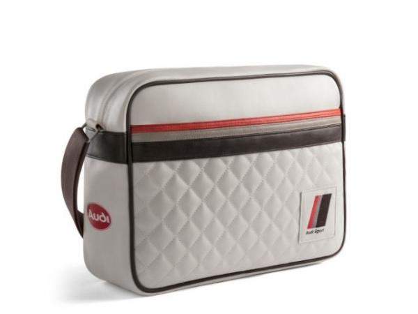 Audi heritage Messenger Bag, offwhite