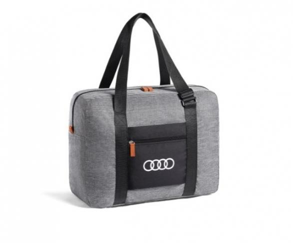 Audi Tasche faltbar, hellgrau