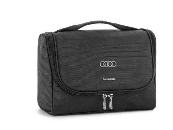 Audi Kulturtasche, schwarz