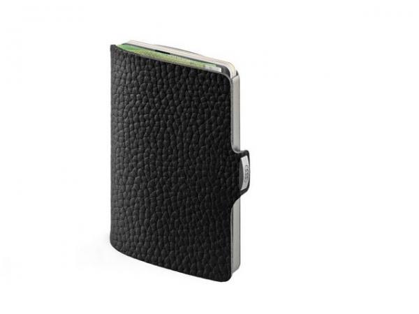 Audi I-CLIP the wallet, schwarz/silber