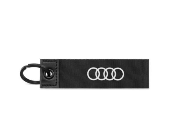 Audi Schlüsselanhänger, schwarz