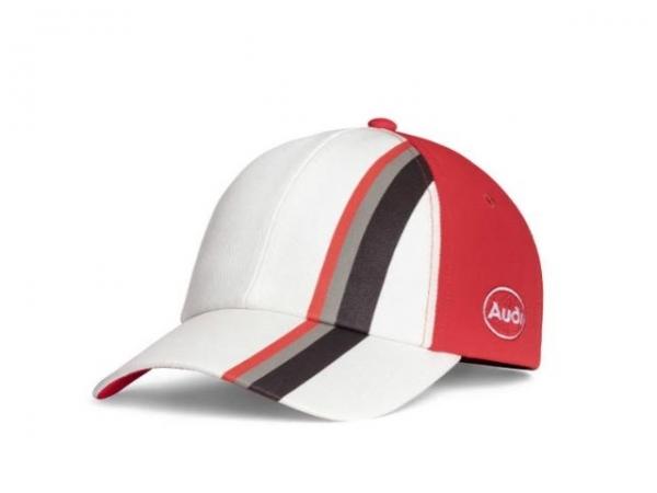 Audi heritage Cap, Kinder, offwhite