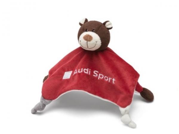 Audi Sport Schmusetuch Motorsportbär