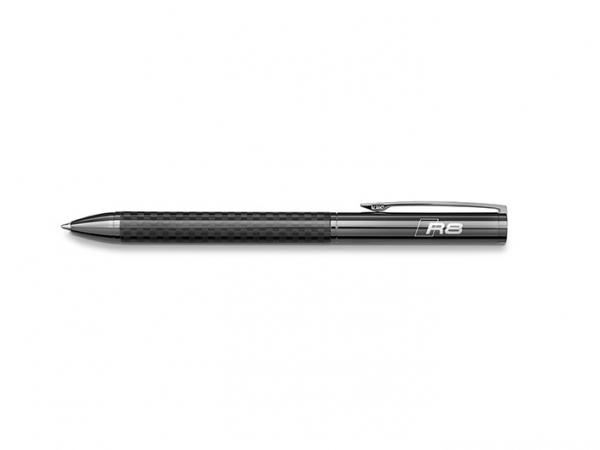 Audi R8 Kugelschreiber mit Carbon-Einlage