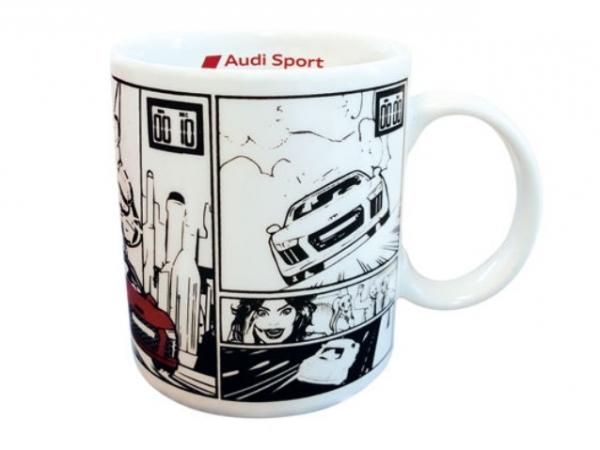 Audi Sport, Tasse mit Comic Print