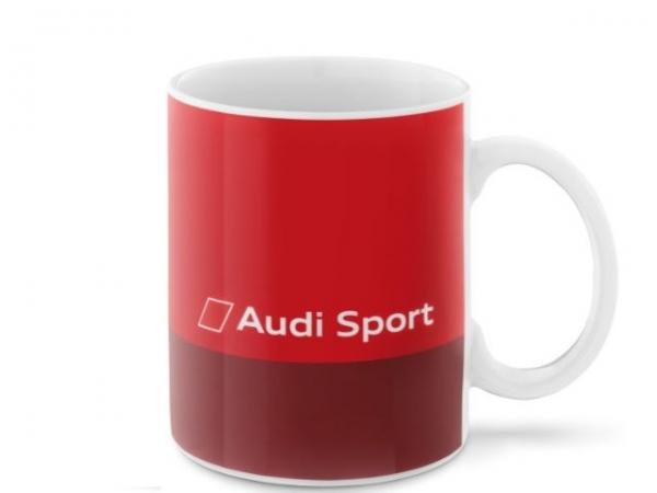 Audi Sport Tasse, rot