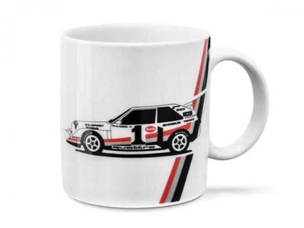 Audi heritage Tasse, weiß