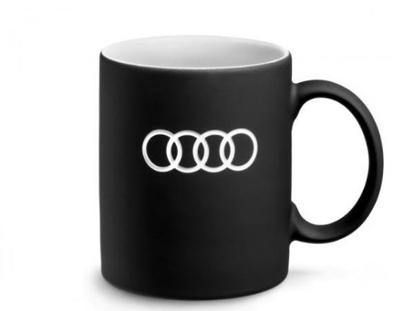 Audi Tasse, schwarz