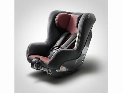 Audi Kindersitz I-SIZE misanorot/schwarz