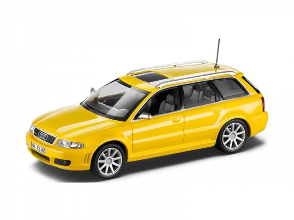 Audi RS4 Avant B5 2.7 Biturbo, 1:43, Imolagelb