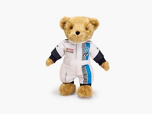 VW Motorsport Teddy mit Rennanzug
