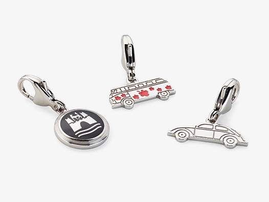 Volkswagen Charms 3er-Set für Bettelarmband