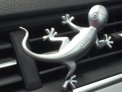 Audi Original Designgecko in Aluminiumoptik