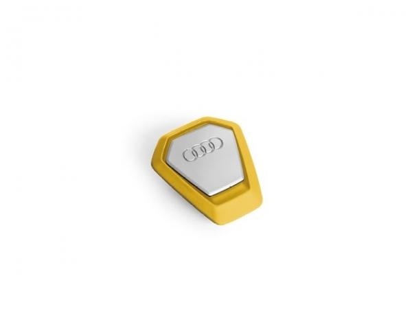 Duftspender Audi Singleframe gelb, belebend
