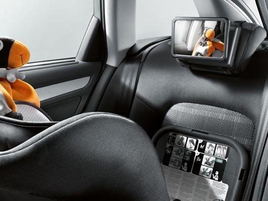 Audi Babyspiegel für die Kopfstütze