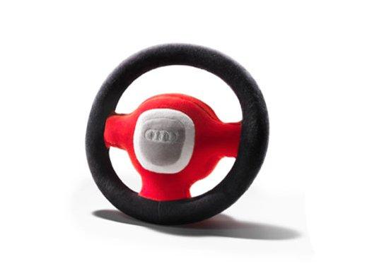 Audi Plüschlenkrad mit Hupe
