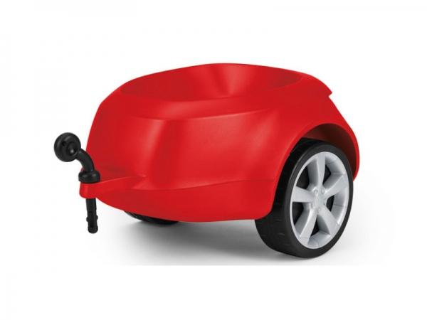 Audi Junior quattro Anhänger, rot
