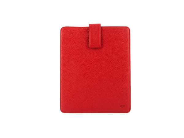 Audi Lederetui, Cover für Apple iPad, rot