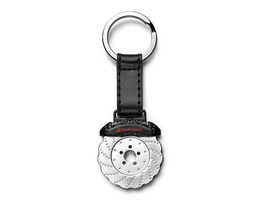 Audi Sport Schlüsselanhänger Bremse inkl. Einkaufswagenchip