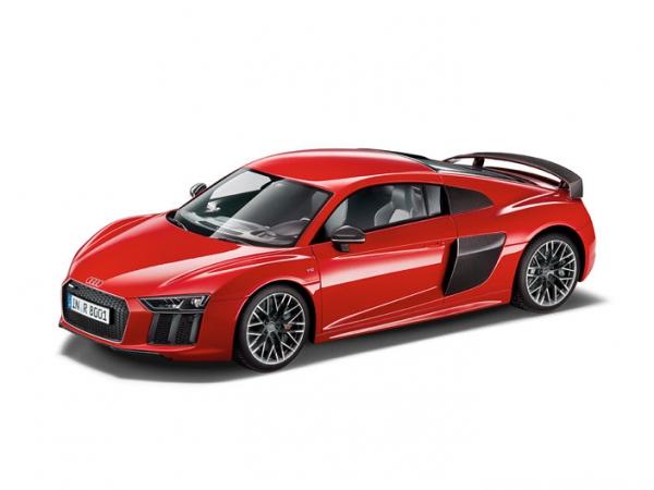 Audi R8 Coupé 1:12 in Dynamitrot, limitiert
