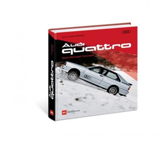 Audi quattro Buch, Dirk-Michael Conradt