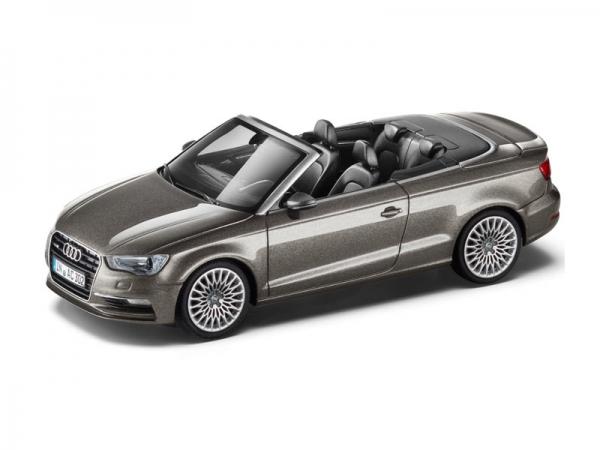 Audi A3 Cabrio Dakotagrau 1:43