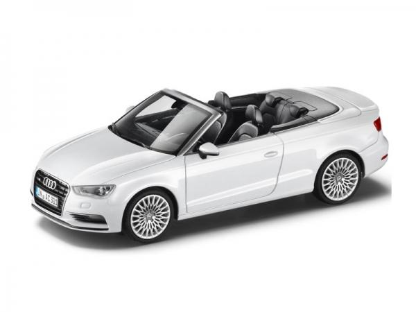 Audi A3 Cabrio Gletscherweiß 1:43