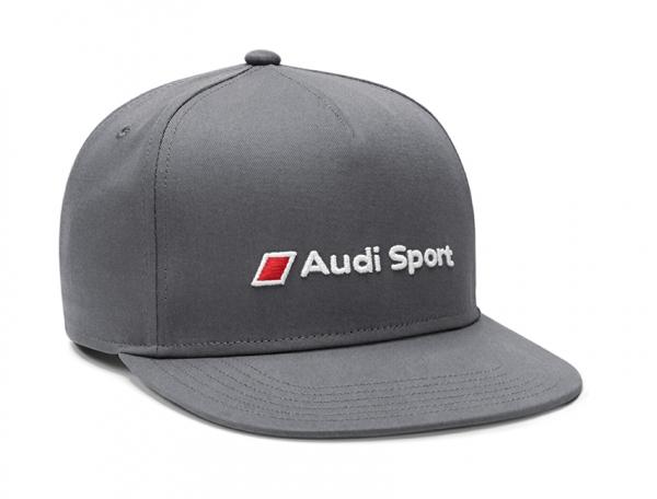 Audi Sport Snapback Cap, grau