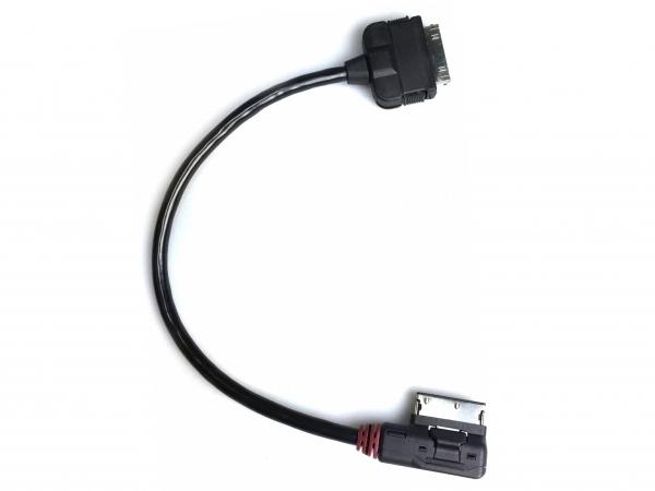 Audi Music Interface Adapter Kabel für Apple mit Dock Anschluß