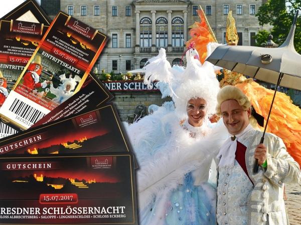Eintrittskarten zur 10. Dresdner Schlössernacht