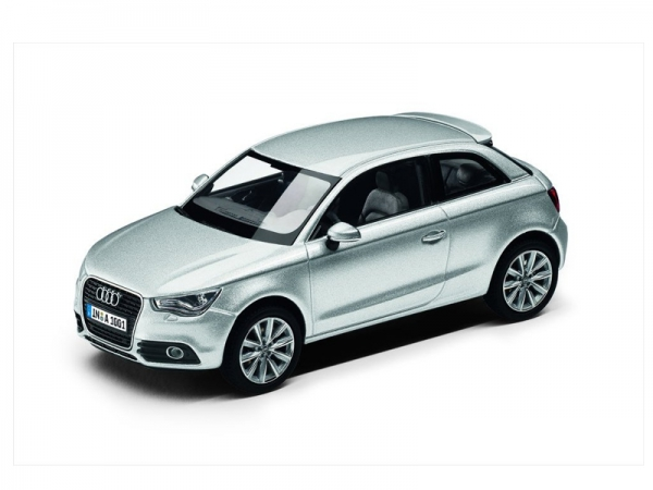 Audi A1, 1:43, Eissilber