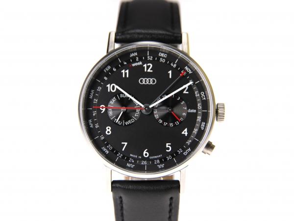 Audi Business-Uhr mit Kalenderwochen-Anzeige