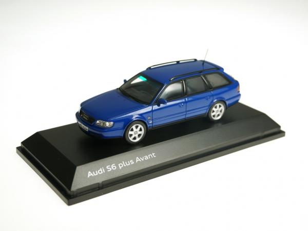 Audi S6 Plus Nogaroblau, 1:43