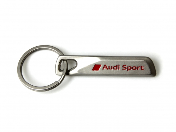 Audi Sport Schlüsselanhänger Edelstahl