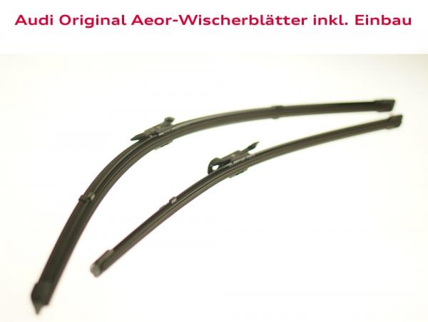 Audi Original Wischerblätter inkl. Einbau Audi TT (Typ 8N)