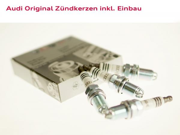 Audi Original Zündkerzen inkl. Einbau Audi A6 (Typ 4B)